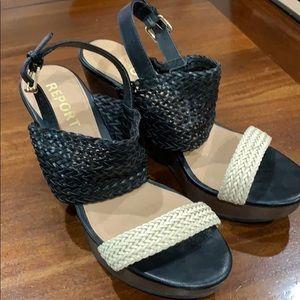 Report Wedge Sandals